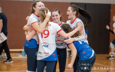 Turniej Finałowy Kadetek: Legionovia – Metro